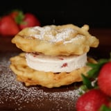 Funnel Cake Ice Cream Sandwich