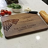 Dinner Is Coming Cutting Board