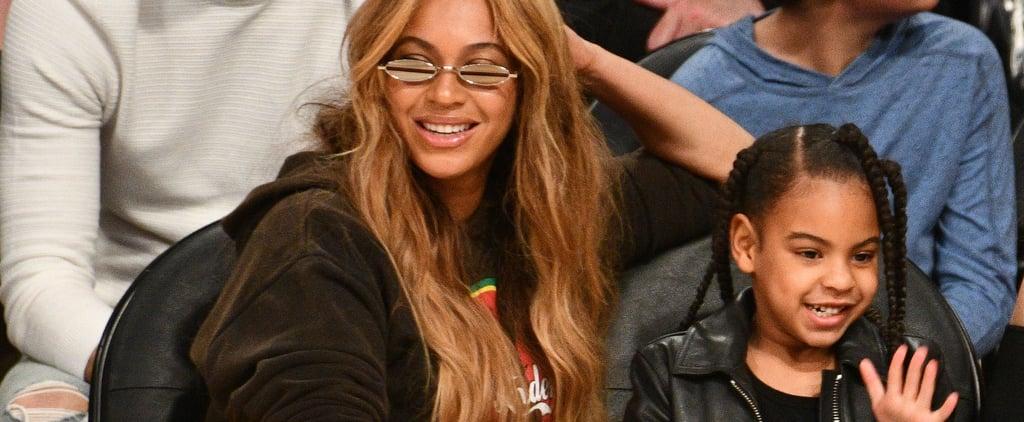 Beyoncé and Blue Ivy Got Mother-Daughter Manicures
