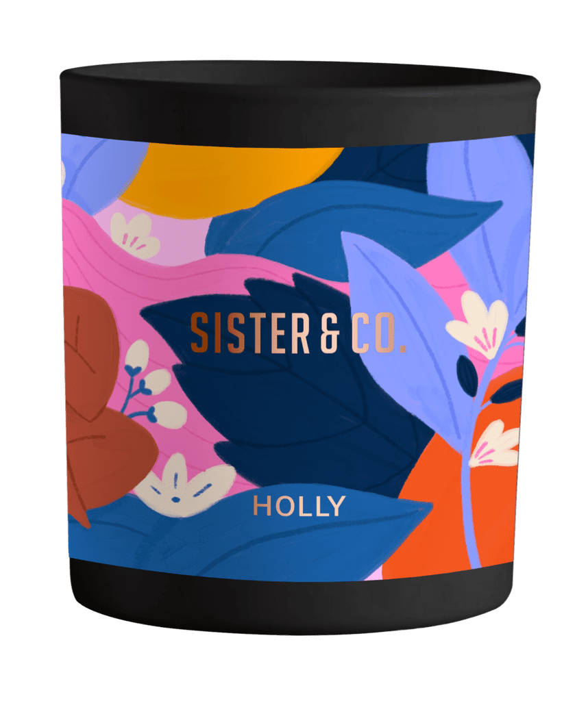 Sister & Co Holly Candle