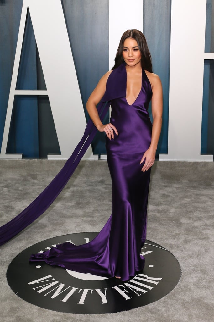 Vanessa Hudgens at the Vanity Fair Oscars Afterparty 2020