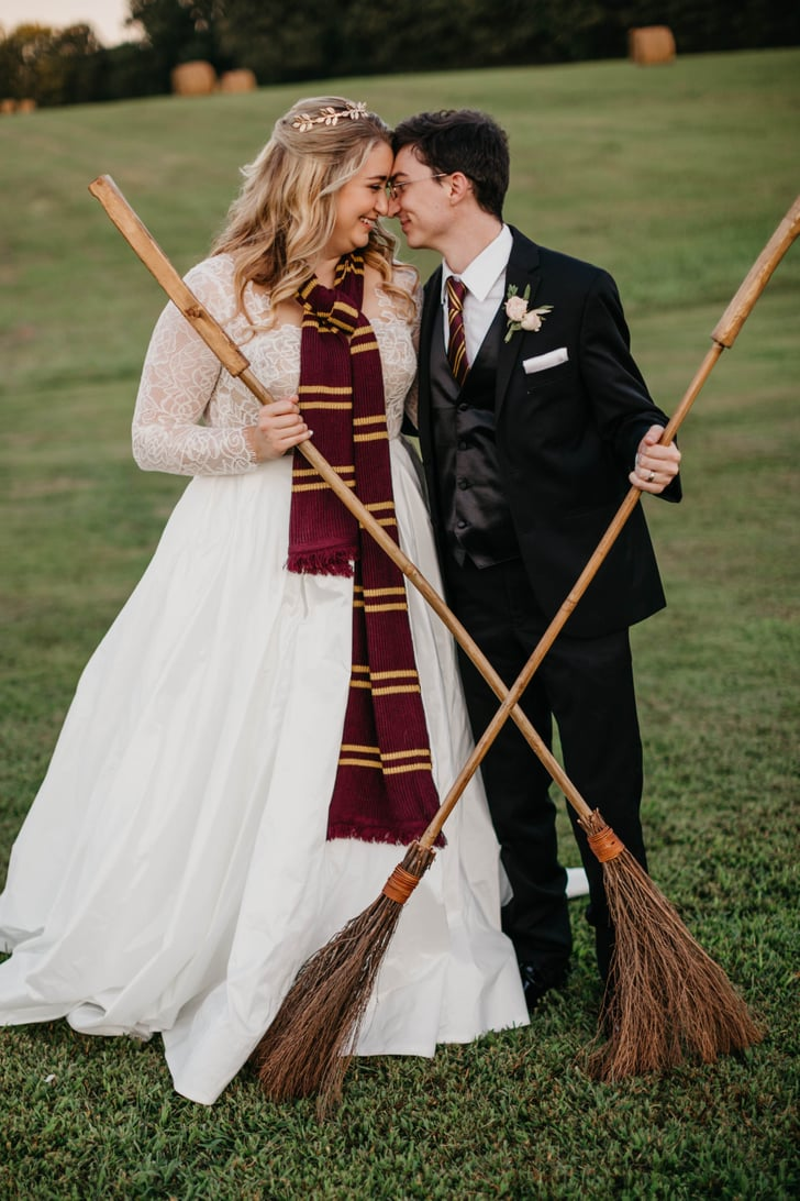 Harry Potter Wedding Photos  POPSUGAR Love & Sex