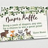 Diaper Raffle Printable Baby Shower Game