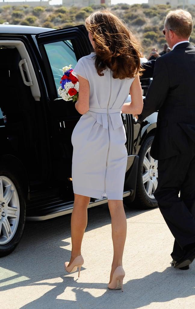 Kate Middleton at LAX.