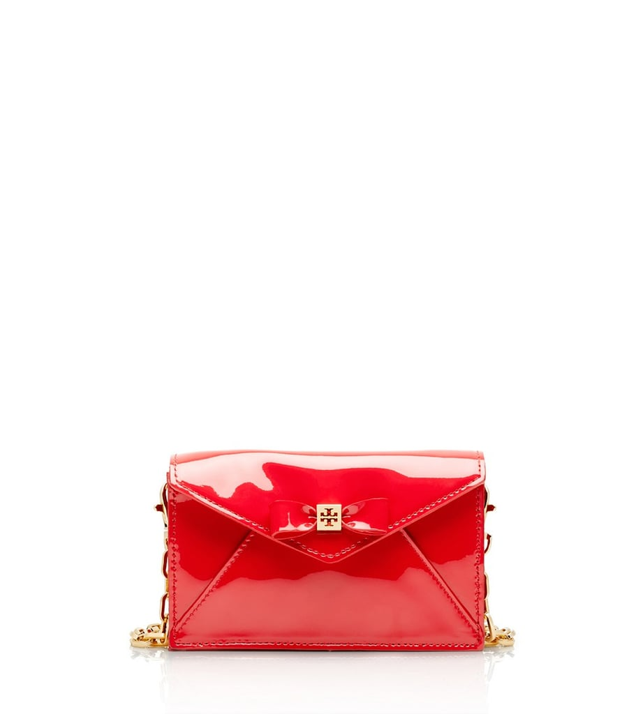 Add a pop of red to your look with this adorable Tory Burch Bow envelope crossbody ($165, originally $275).