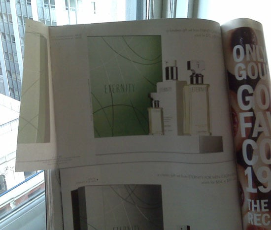 What Do You Do With Magazine Perfume Samples?