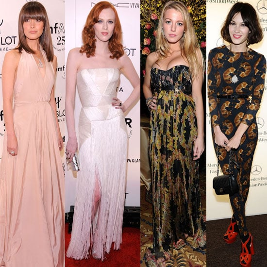Gallery of Pictures of Celebrities at New York Fashion Week Fall 2011