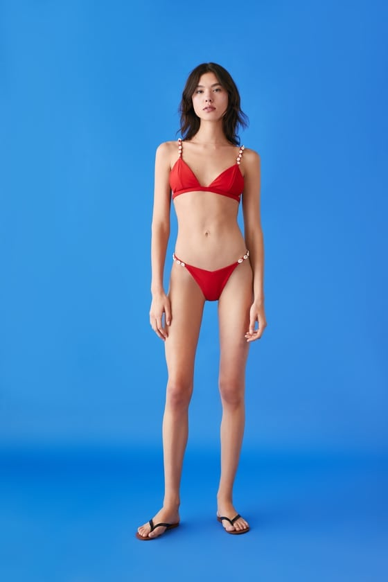 Zara Seashell Bikini Bottom