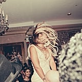 She whipped her hair back and forth at her mom Tina's 60th birthday party in New Orleans in January 2014.
