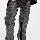 Jeffrey Campbell Cry4U Point Toe Scrunchy Boots