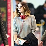 Drew Barrymore and Will Kopelman touched down in France.