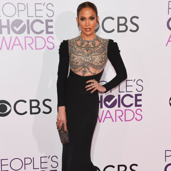 Jennifer Lopez at the 2017 People's Choice Awards