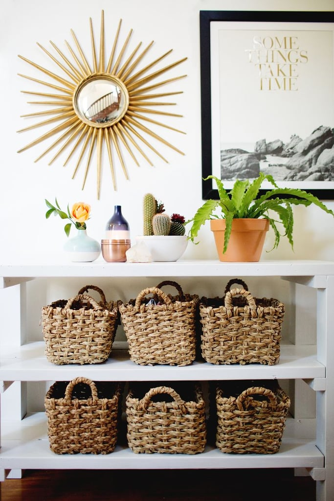 Day 2: Organize Your Mail in Baskets