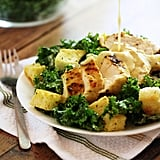 Grilled Chicken Kale Caesar Salad