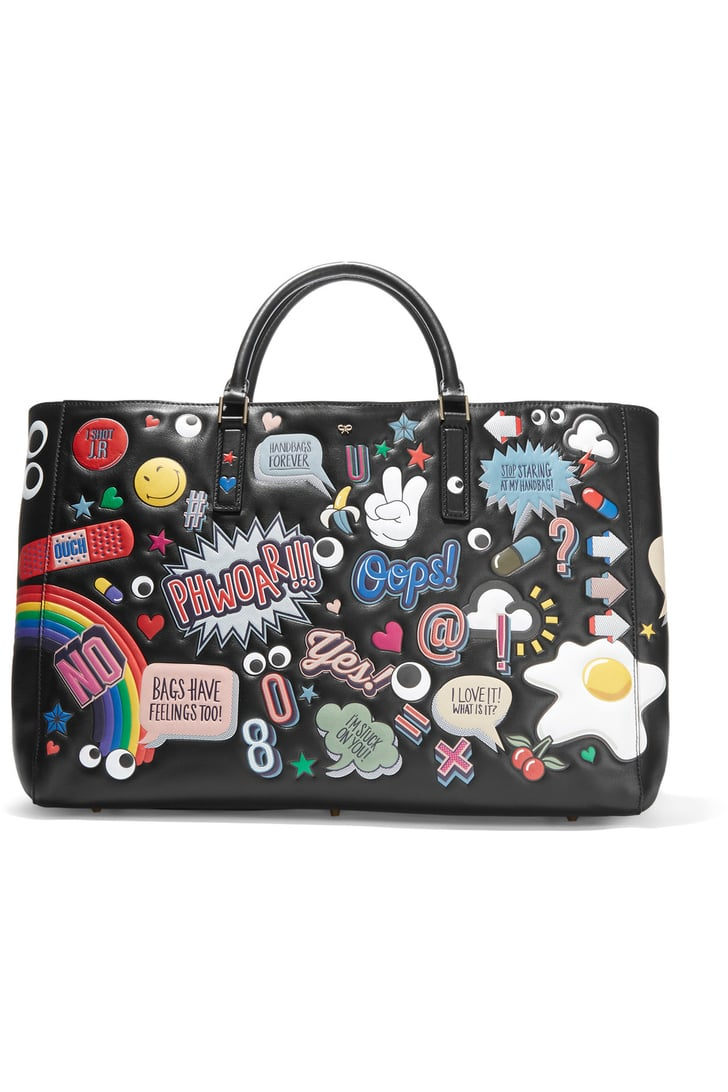 Give the ultimate carryall — Anya Hindmarch's Ebury Maxi All Over Stickers Leather Tote ($3,500) will make even a day spent running errands feel extraspecial.