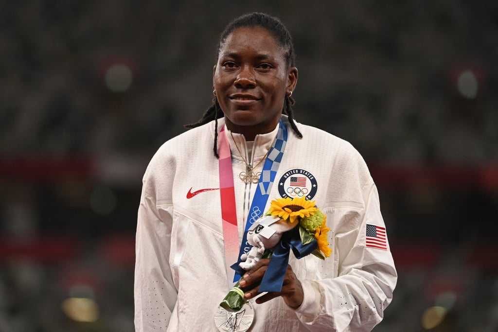Brittney Reese Wins Silver in Long Jump For Team USA