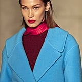 Bella Hadid on the Oscar de la Renta Fall 2020 Runway