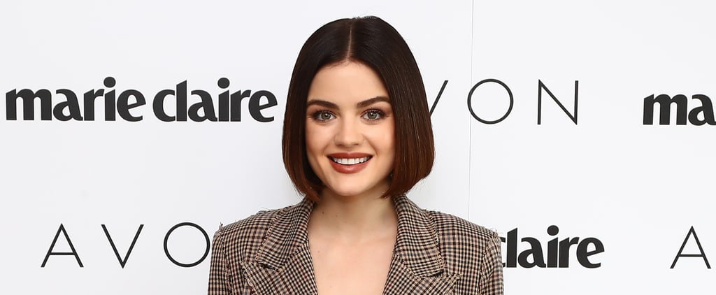 """Lucy Hale Is """"Very Honored"""" to Be Around the Women of Time's Up"""