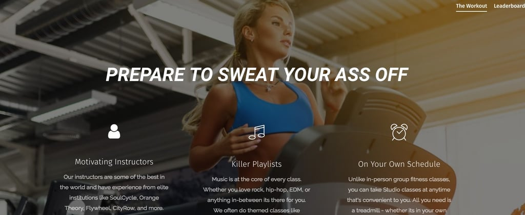 "If You Love Orangetheory, This Treadmill-Focused App Might Be Your Next ""Class"""