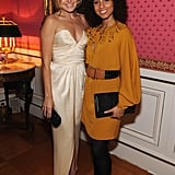 Malin Akerman and Alicia Keys posed together at the White House Correspondant's Dinner.