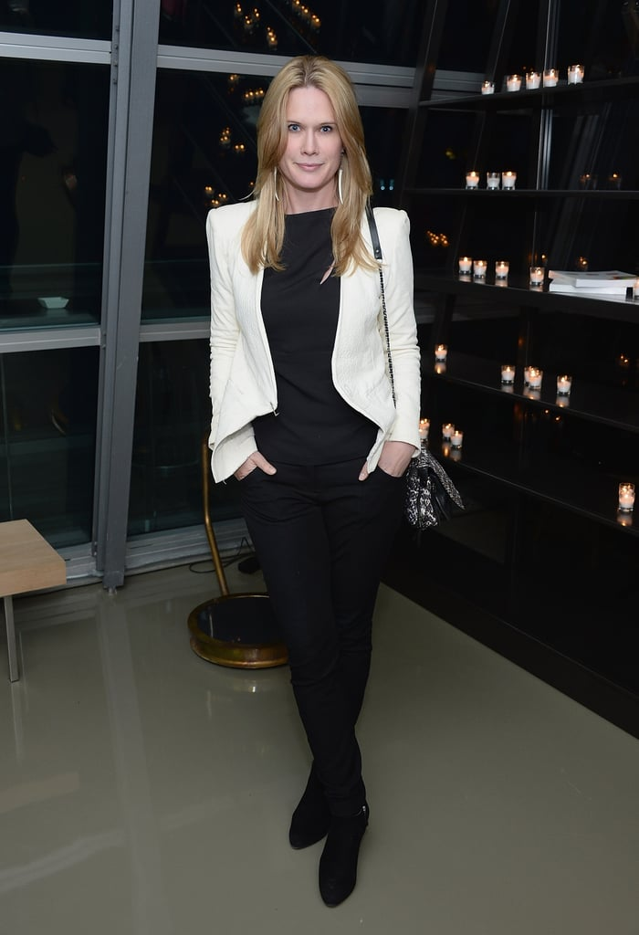 Stephanie March wore a chic outfit to the afterparty.