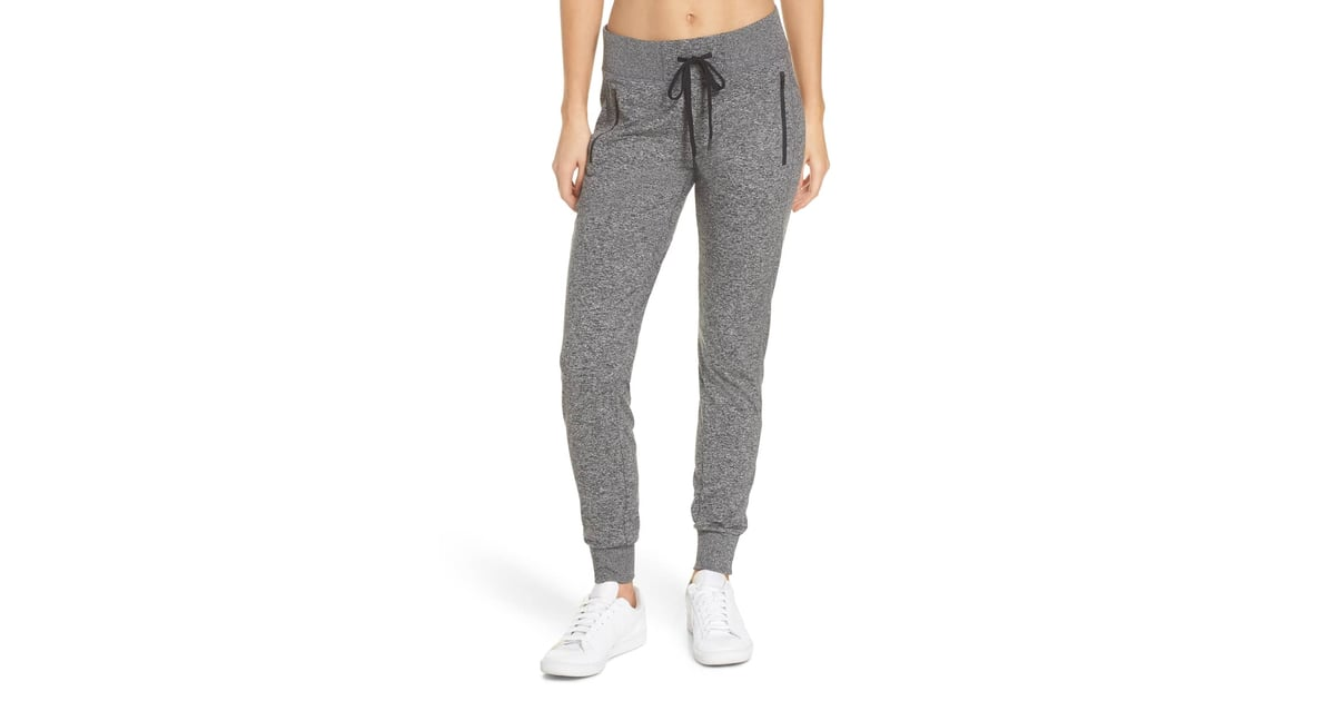 5c2f0af4235 Zella Taryn Recycled Mélange Jogger Pants | Cozy Sweatpants 2018 | POPSUGAR  Fitness Photo 4