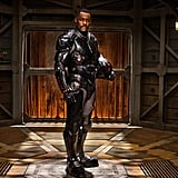 Idris Elba as Stacker Pentecost The futuristic suit he wears in Pacific Rim brings out the best, sexiest version of Idris Elba. With that gorgeous gaze and tough-guy attitude, we'd definitely take orders from him.