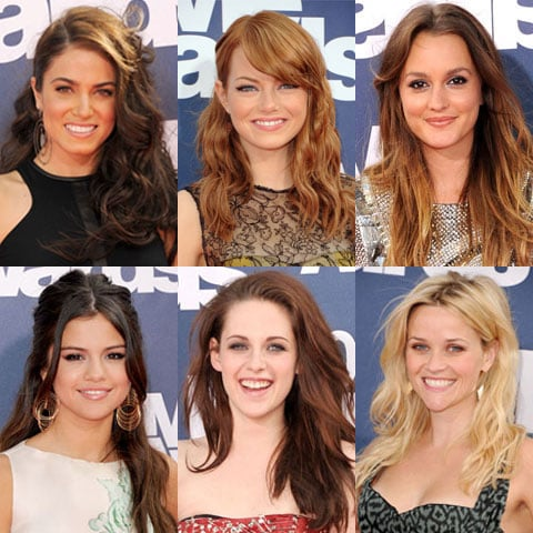 Wavy Hairstyle Trend at the 2011 MTV Movie Awards