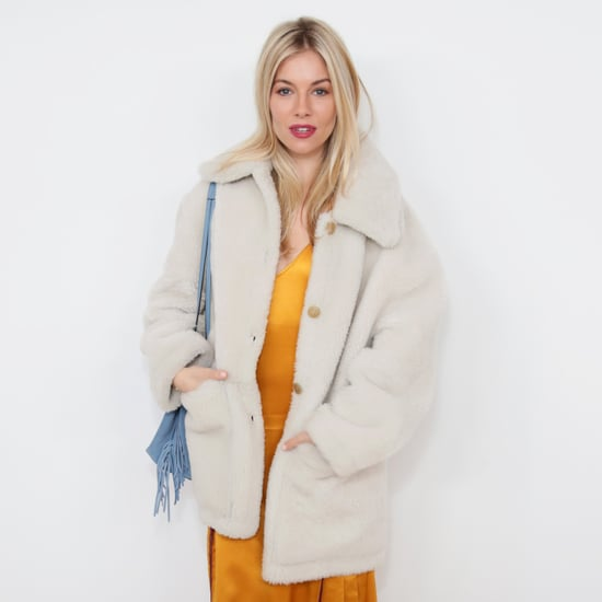 Sienna Miller's Yellow Slip Dress