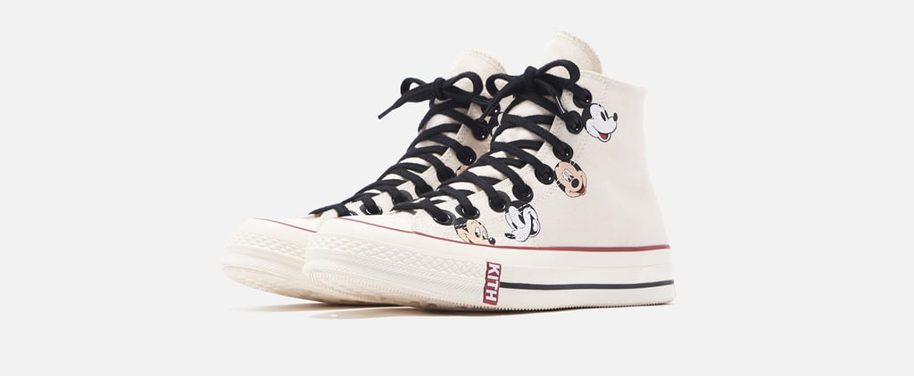 These Mickey Mouse x Kith Converse Sneakers Are Dream Shoes