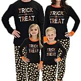 Sleepyheads Halloween Trick Treat Family Matching Pajama Set