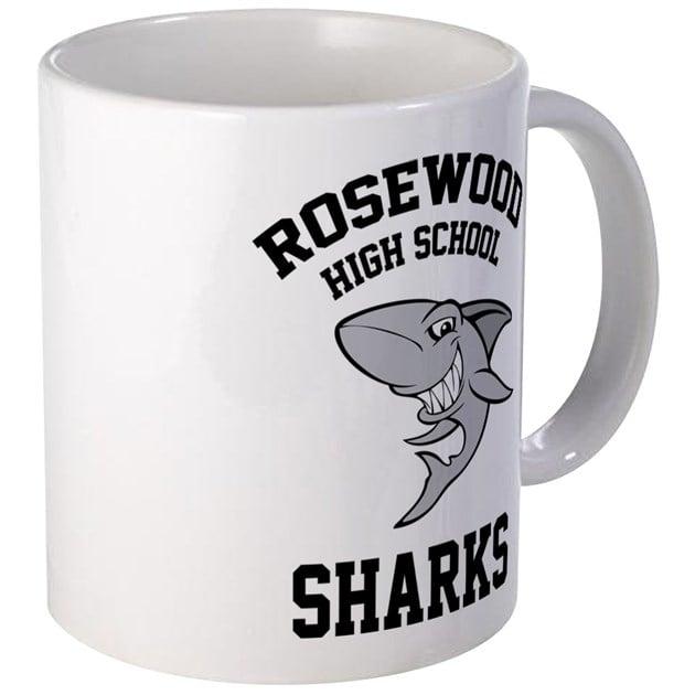 Rosewood Sharks Mug