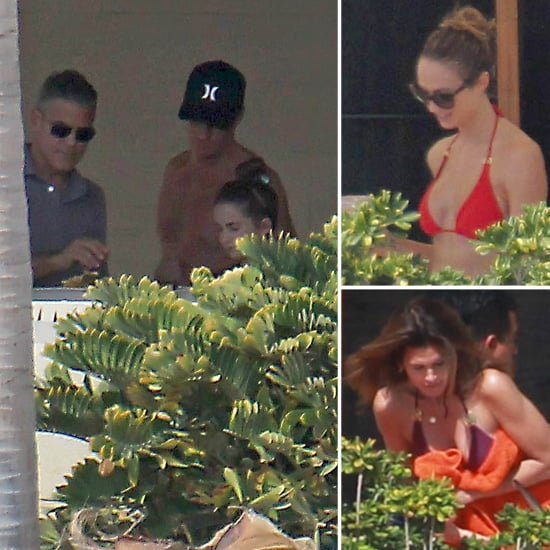 George Clooney and Stacy Keibler's Thankgiving in Cabo