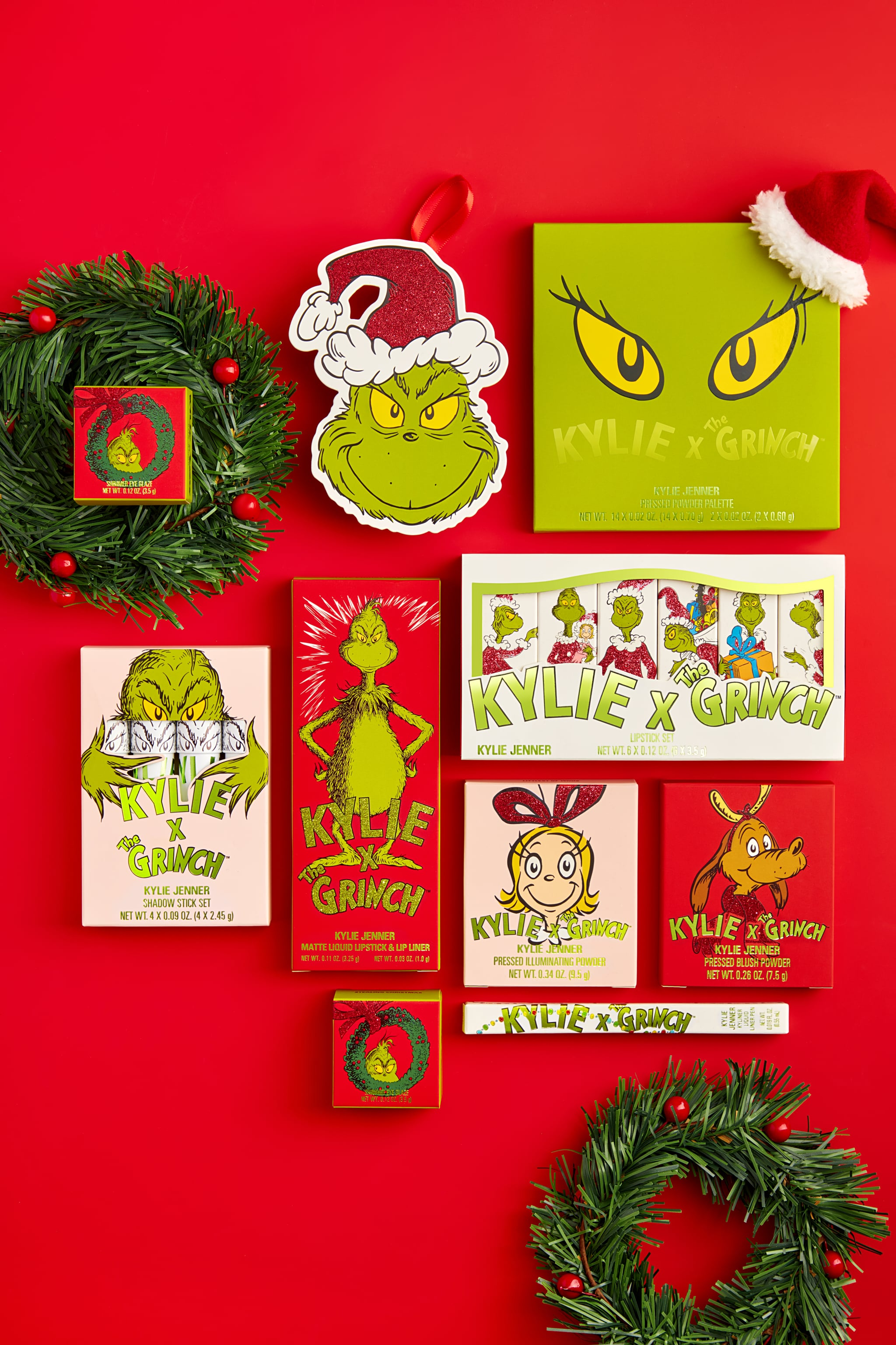 Kylie Cosmetics X The Grinch Holiday Collection Popsugar Beauty