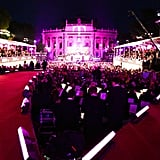A view of the runway at the 2013 Life Ball in Vienna, Austria.  Source: Benjamin Lozovsky/BFAnyc.com