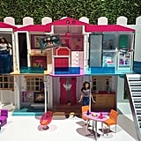 "The new Barbie dream house is a ""smart"" house that can communicate and interact with your child depending on the way they want to play. It features four modes of play — including a superfun dance party mode — and like all the Dream Houses past, it will provide hours and hours of imaginative fun."