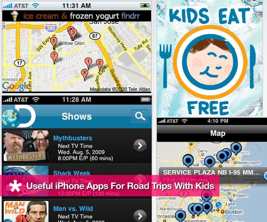 Useful iPhone Apps to Have Handy During Road Trips With Kids