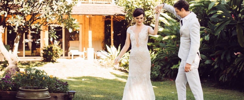Alice Cooper's Daughter Is Rock Royalty, but Her Wedding Is Pure Elegance