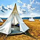 Yellowstone National Park Tipis
