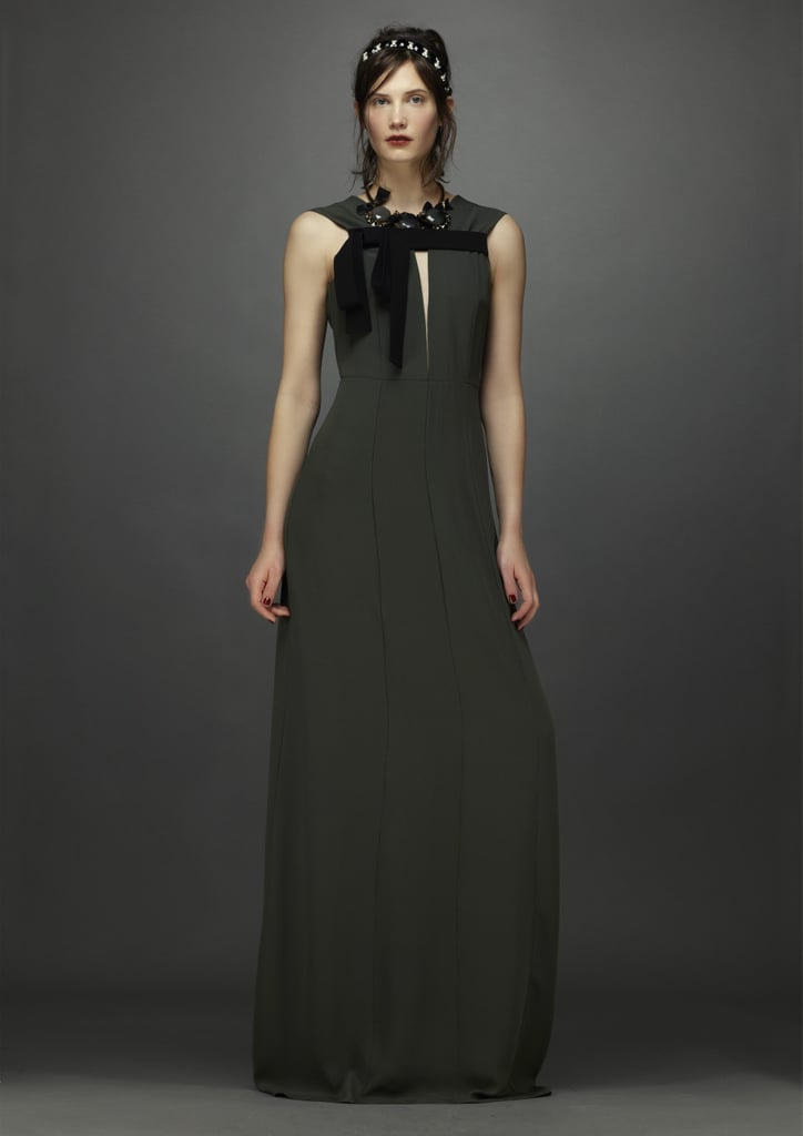 Marni makes gowns look just as easy as a t-shirt and jeans. Source: Marni