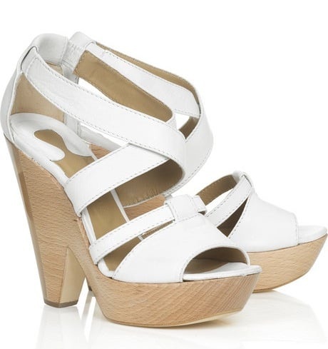 The Look For Less: Chloé Perspex Panel Platform Sandals