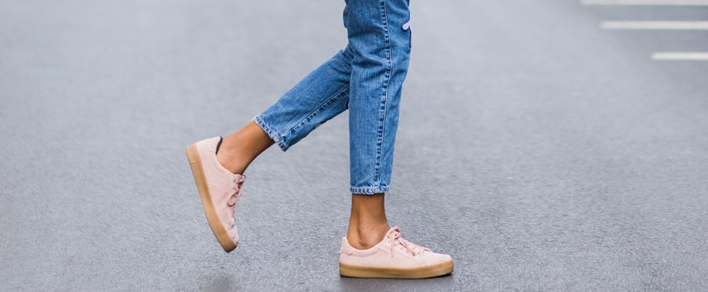 16 Pairs of Rose Gold Sneakers So Pretty, It's Impossible to Pick Your Favorite