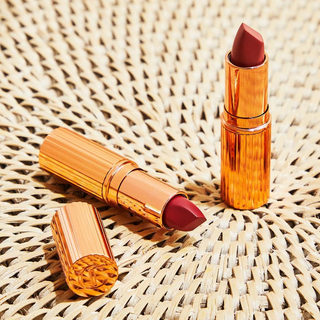 Charlotte Tilbury Matte Revolution Lipstick in Pillow Talk or Walk of Shame