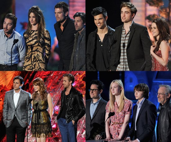 Pictures of Twilight Cast, Horrible Bosses Cast, Super 8 Cast and More on Stage at MTV Movie Awards