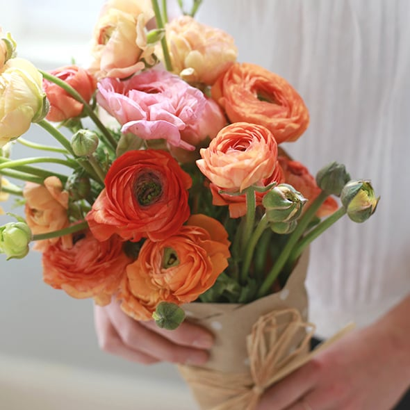 the best non rose flowers to give for valentines day popsugar home