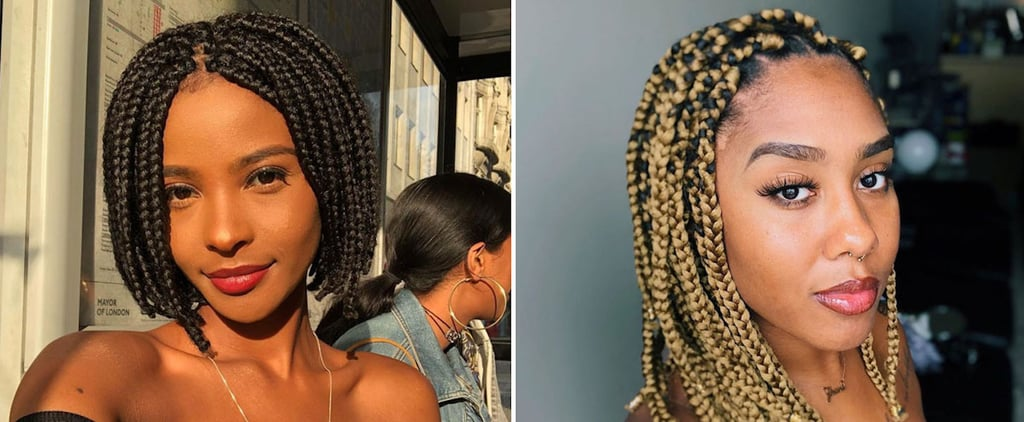 Box Braid Bob Hairstyles