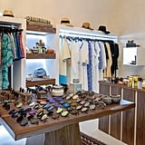 After the spa visit, we stopped by the boutique, which offers all fashion-forward Greek designers. There is mostly beachwear, sunglasses, dresses, and some high-end beauty products from brands like La Mer, Dior, and La Prairie.