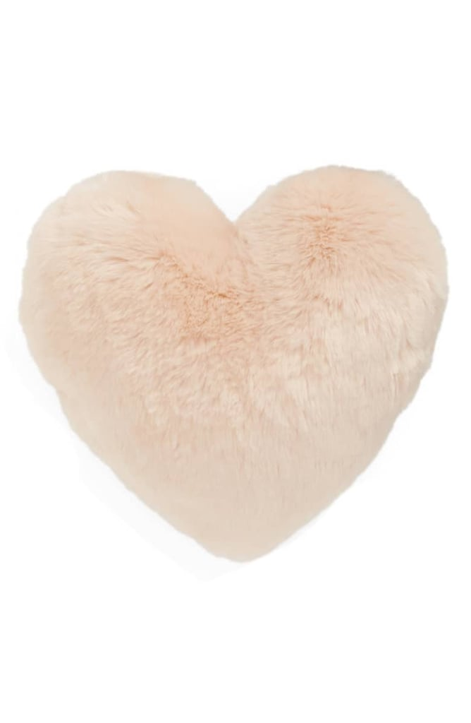 12f84b46ce Nordstrom At-Home Cuddle Up Faux Fur Heart Accent Pillow