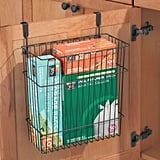 MDesign Metal Wire Hanging Over-Door Kitchen Storage Organizer