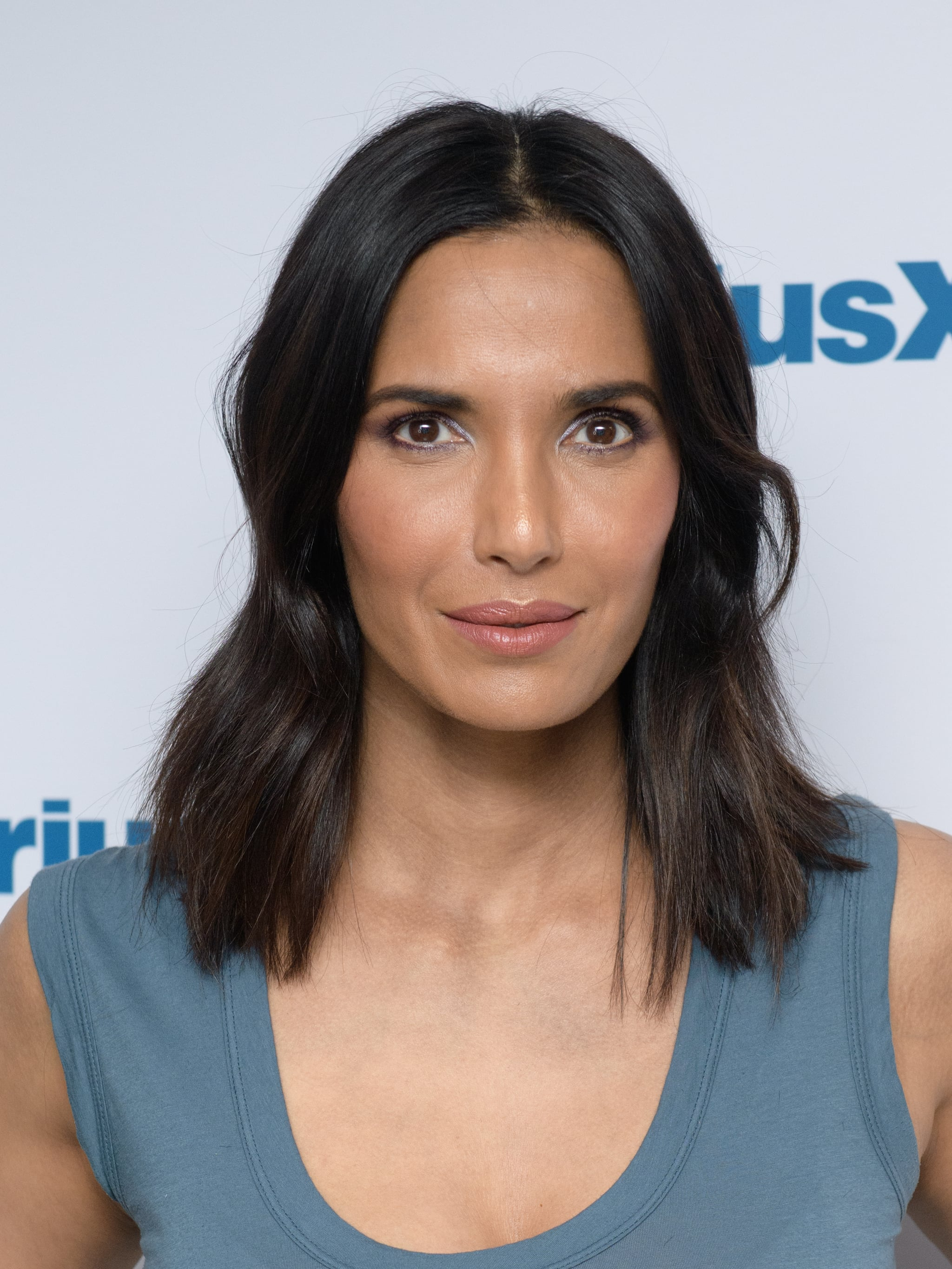 NEW YORK, NY - MARCH 08:  Padma Lakshmi visits the SiriusXM Studios on March 8, 2018 in New York City.  (Photo by Noam Galai/Getty Images)
